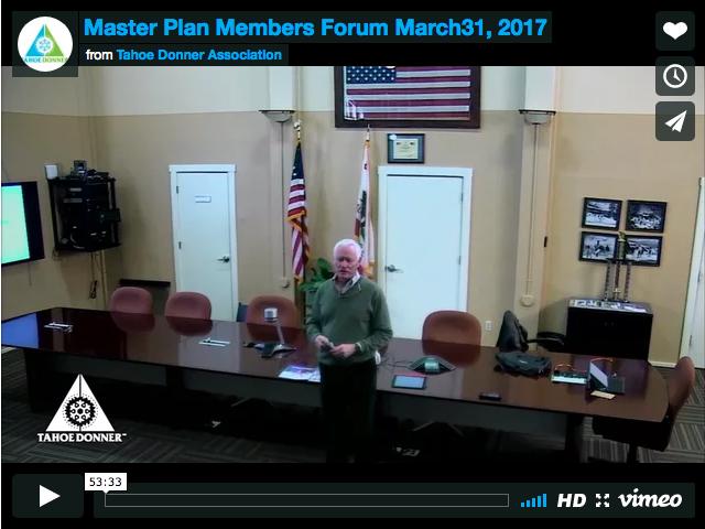 Member Forum March 31, 2017