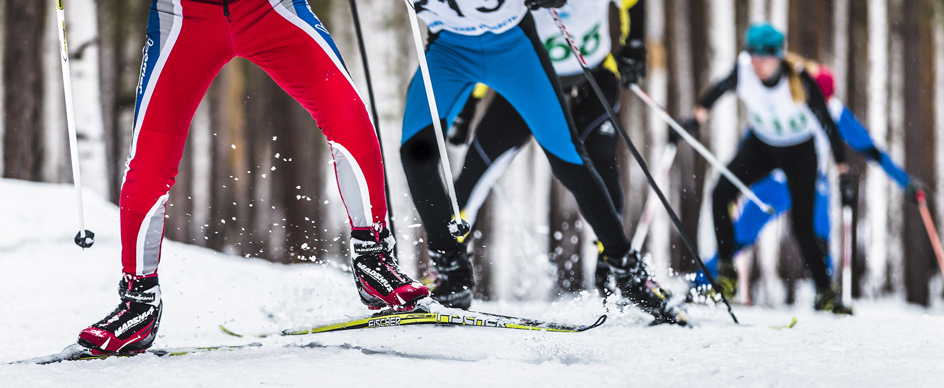 Watch the Olympic XC + Biathlon Events