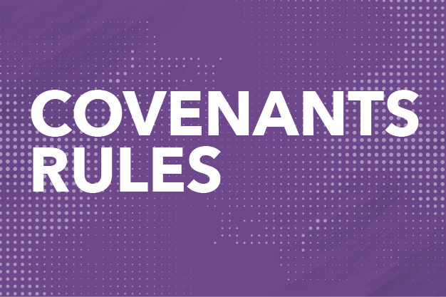 Covenants Rules Button
