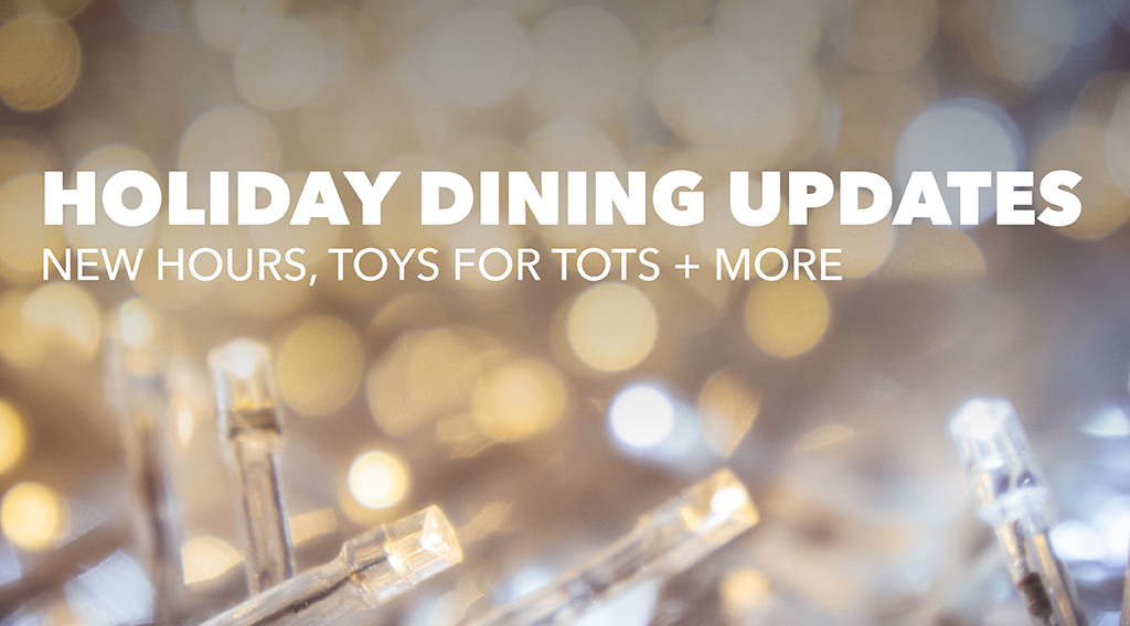 Check Out the Latest Holiday Dining News