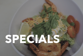 Specials at Alder Creek Cafe