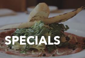 Specials at The Lodge Restaurant & Pub