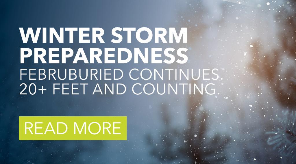 Winter Storm Preparedness + Resource Guide