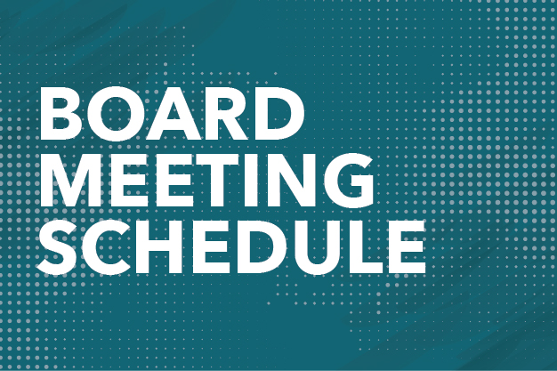 Board Meeting Schedule Button