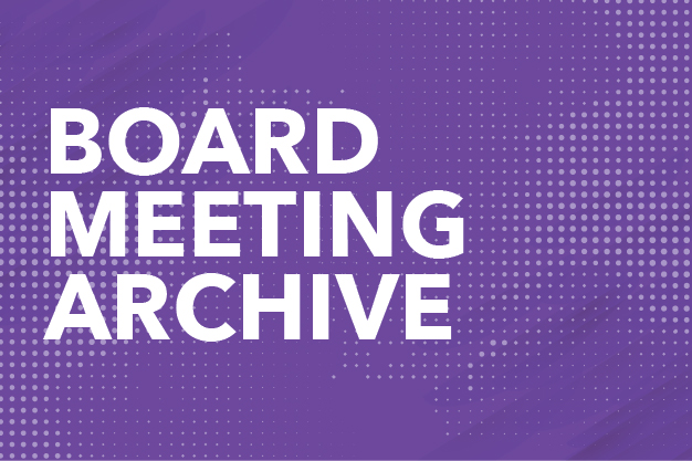 Board Meeting Archive Button