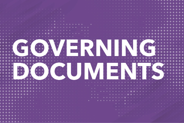 Governing Documents Button