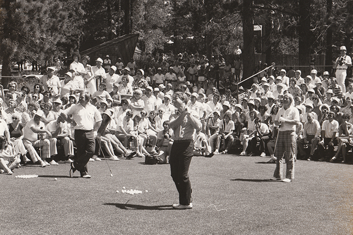 PGA Tour Event at Tahoe Donner Golf Course