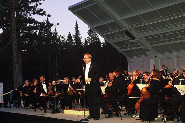 Vintage photo of Tahoe Donner Summer Concert