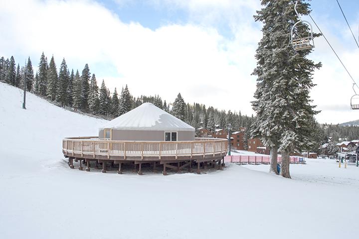 Tahoe Donner Downhill Ski Resort Ski School Yurt