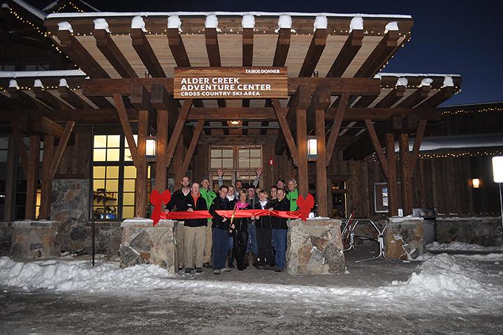 Alder Creek Adventure Center Grand Opening Ribbon Cutting