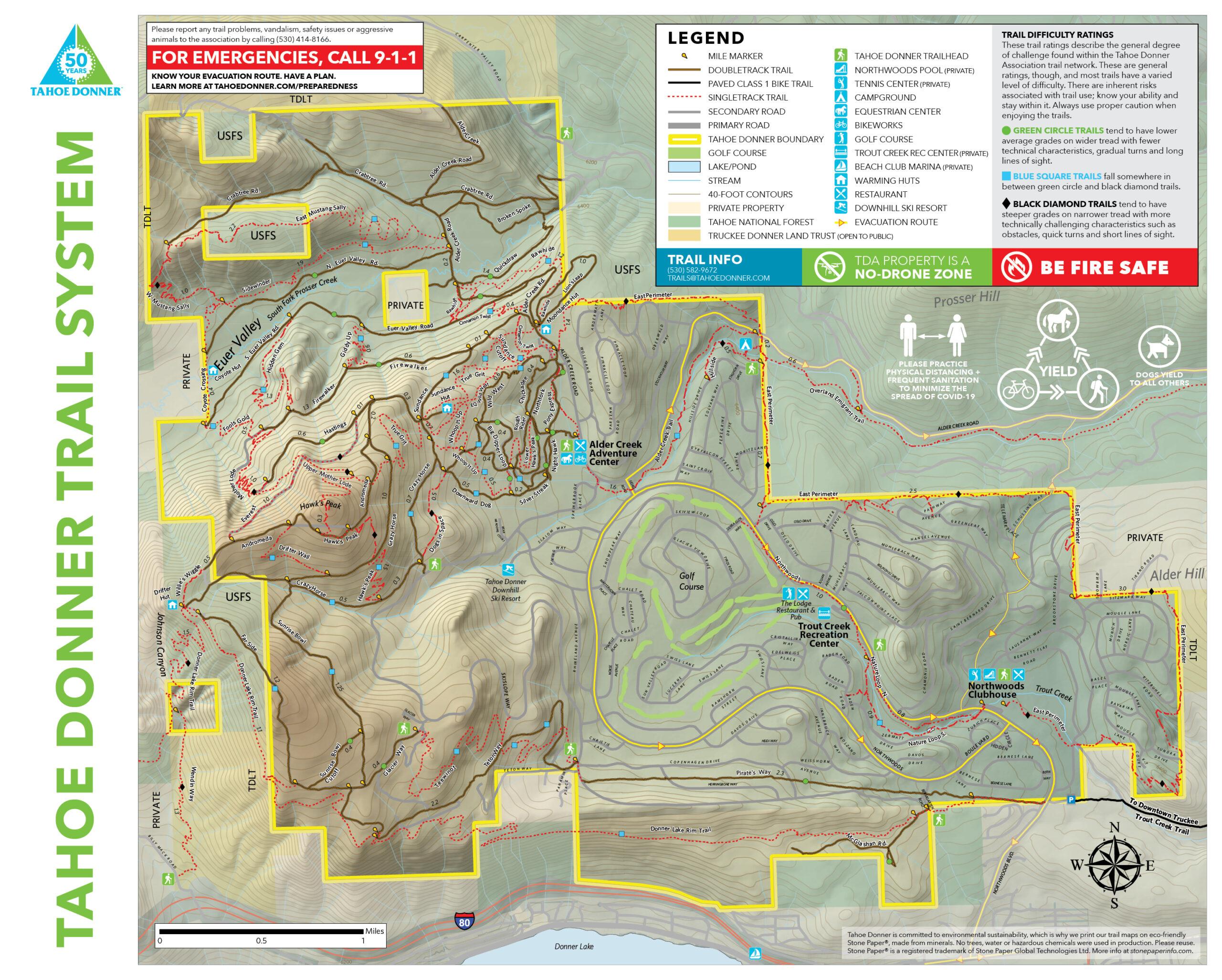 2021 Summer Trail Map