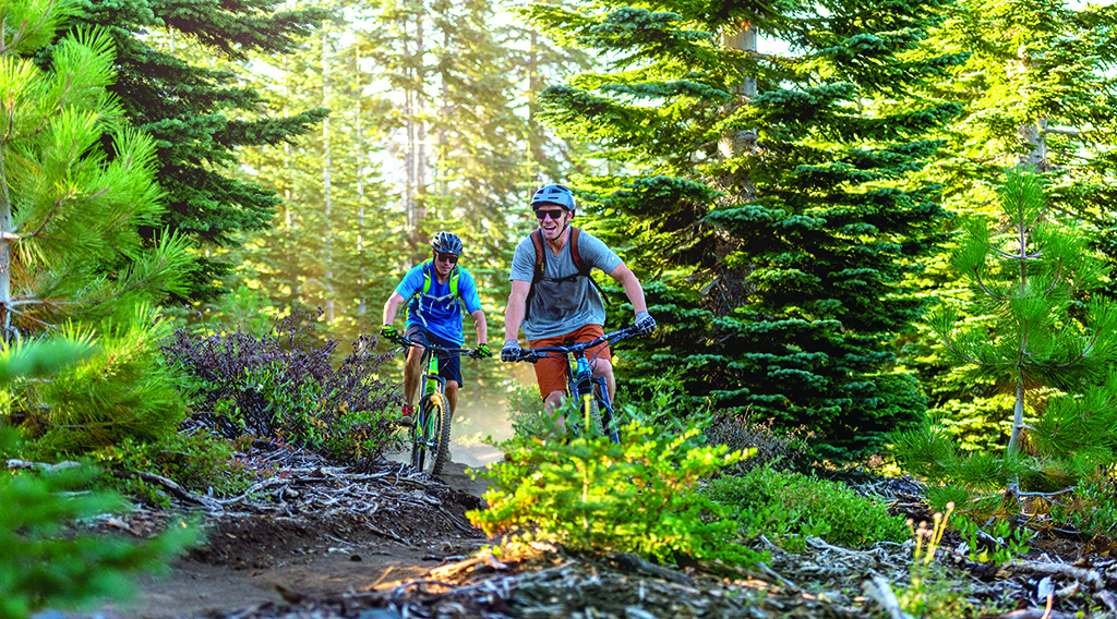 Get on the Right Track | Mountain Biking at Tahoe Donner