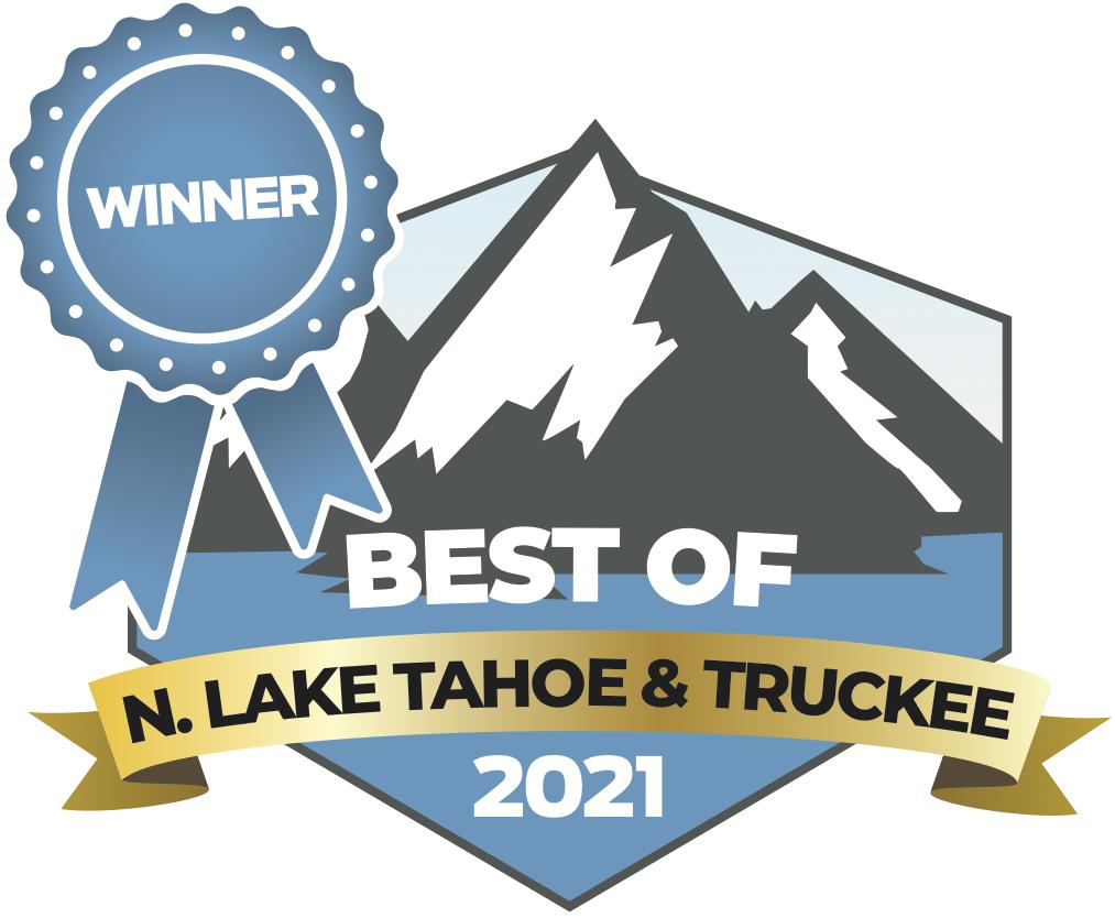 Best Of North Lake Tahoe and Truckee 2021 Winner Logo
