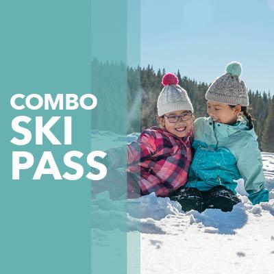 Combo Ski Pass Button