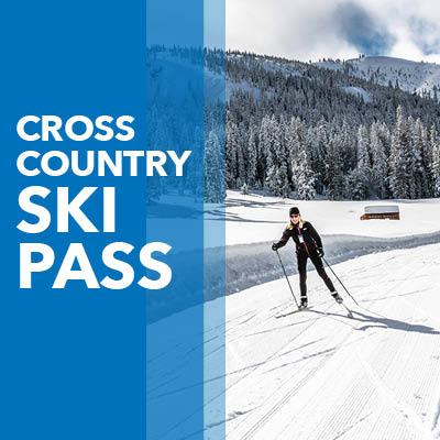 Cross Country Ski Pass Button