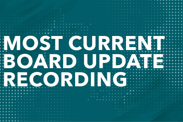 Most Current Board Update Recording Button