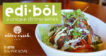 Edi-Bōl Dinner Series at Alder Creek Cafe